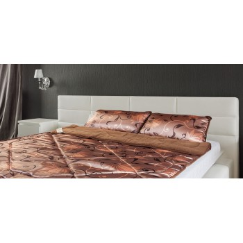 Merino Bedding Set Wool & SATIN Bed Duvet / Quilt Double Size 200/200 cm