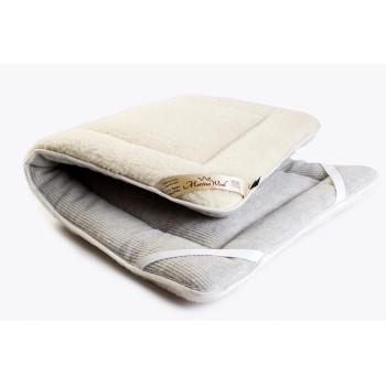 MERINO PURE WOOL  BED COVER Wool Mattress Topper Super King 80/210cm  ( CAR BED SHAPE  )
