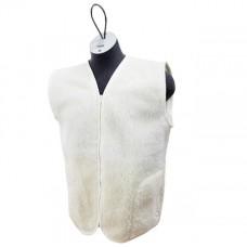 ECRU Merino Wool Vest Natural Body Warmer Vest Waistcoat ALL SIZES