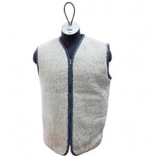 GREY Merino Wool Vest Natural Body Warmer Vest Waistcoat ALL SIZES
