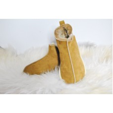 Candy Natural Warm Cozy Leather ORGINAL Wool Sheepskin Fur Slippers