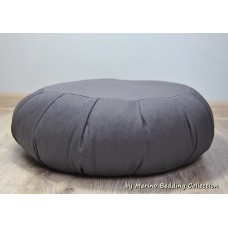 GREY Medical VEGAN Organic Yoga Pillow Round Zafu Mat Buckwheat Meditation Cushion