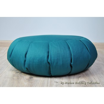SEA Medical VEGAN Organic Yoga Pillow Round Zafu Mat Buckwheat Meditation Cushion