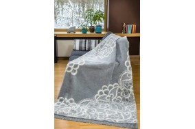 COTTON COMFY Throws Bedspread Cotton Blanket with Fringes - Bed Cover 11