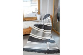 COTTON COMFY Throws Bedspread Cotton Blanket with Fringes - Bed Cover 6