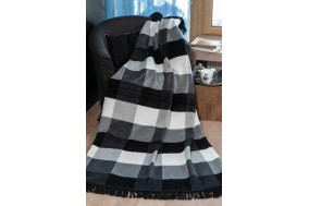COTTON COMFY Throws Bedspread Cotton Blanket with Fringes - Bed Cover 7