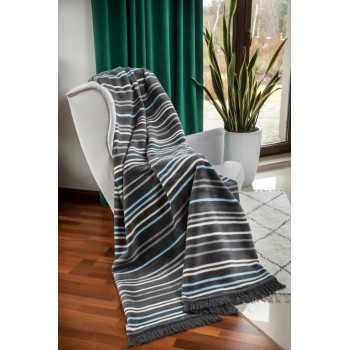 COTTON COMFY Throws Bedspread Cotton Blanket with Fringes - Bed Cover 4