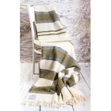 Merino Wool Blanket Tartan Rug Wool Throw  Double size 160/200cm