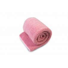 Natural & Warm Merino Wool Blanket Bed Wool Throw , Bed Cover Sofa Pad Pink