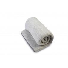 Natural & Warm Merino Wool Blanket Bed Wool Throw , Bed Cover Sofa Pad Grey