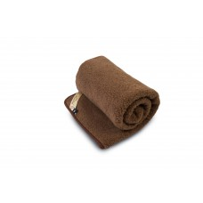 BROWN Merino Wool Blanket