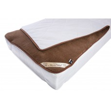 LUXURY AUSTRALIAN MERINO WOOL CAMEL UNDER BLANKET ,Mattress Topper Reversible ALL SIZES