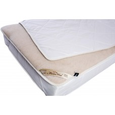 Luxury Merino Wool Camel Underblanket Mattress Topper Bed Pad Beige