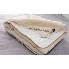 80x190cm LUXURY MERINO PURE WOOL CASHMERE UNDER BLANKET 100% NATURAL ,Mattress Topper