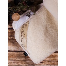 80x200cm MERINO WOOL UNDER BLANKET  100% NATURAL, MATTRESS TOPPER