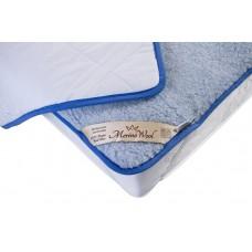 BLUE Merino Wool Mattress Topper Pad Underblanket