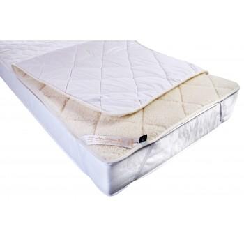 NATURAL AUSTRALIAN MERINO PURE WOOL UNDERBLANKET BED COVER Wool Mattress Topper Single 90/200cm