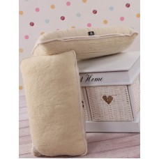 Merino Wool Standard Bed Pillow Lambswool Pillow Wool Pillow  + wool cover (1pcs)