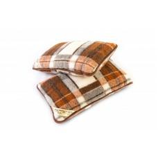 Checked Merino Wool Pillow (1pcs)