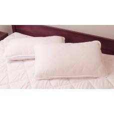 2pack 100% COTTON Pillow + Cotton cover High quality