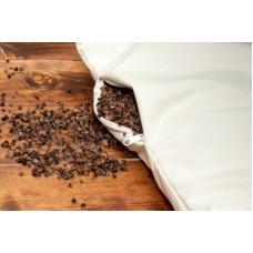 ECCO Buckwheat Pillow Medical Pillow with  cotton cover 100% Organic Vegan   Natural Buckwheat Pillow (1pcs)